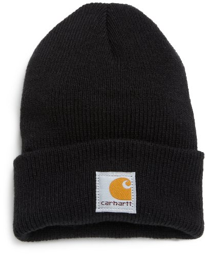 - Carhartt Toddler Boys Acrylic Watch Hat, caviar black, Toddler