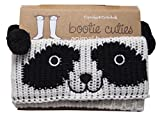 panda rain boots - Bootie Cuties Boot Cuffs by Cupcakes and Cartwheels: Fun Fashion Cute Knitted Animal Cuffs for Low and High Boots: One Size Fits All-100% Acrylic - Machine Washable - Brown Bear, Penguin, Panda & Owl (panda)