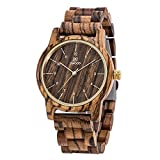 Men And Women's Wooden Watch Analog Quartz Lightweight Handmade Wood Wrist Watch Unique Gift