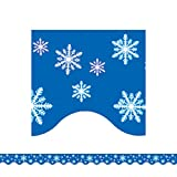 TEACHER CREATED RESOURCES SNOWFLAKES BORDER TRIM (Set of 36)