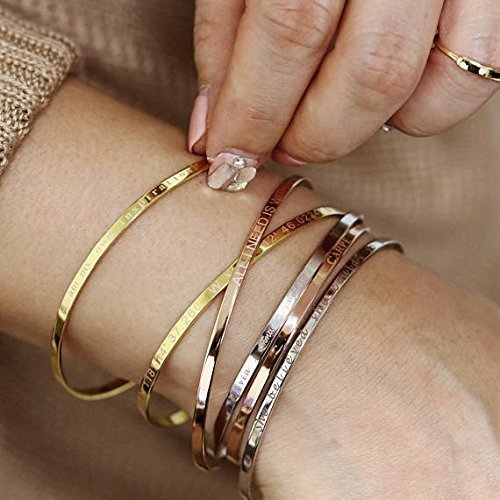 bangles floating bracelet heart flat bangle personalized