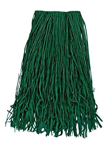 Raffia Grass Skirt (Adult Luau Green Raffia Grass Skirt)