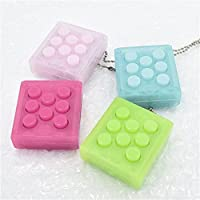 New Electronic Puchi Stress Reliever Squeeze Bubble Crazy Gadget Endless Pop Pop Key Chain By KTOY