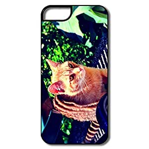 PTCY IPhone 5/5s Designed Particular Ginger Tabby