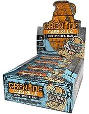 Grenade Carb Killa Cookies and Cream Proteïnereep, 12 x 60g