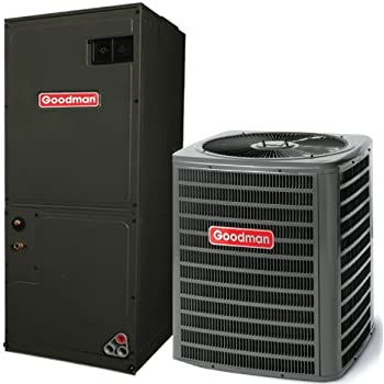 goodman ac unit. 2.5 ton 13 seer goodman air conditioning system - gsx130301 aruf30b14 ac unit s