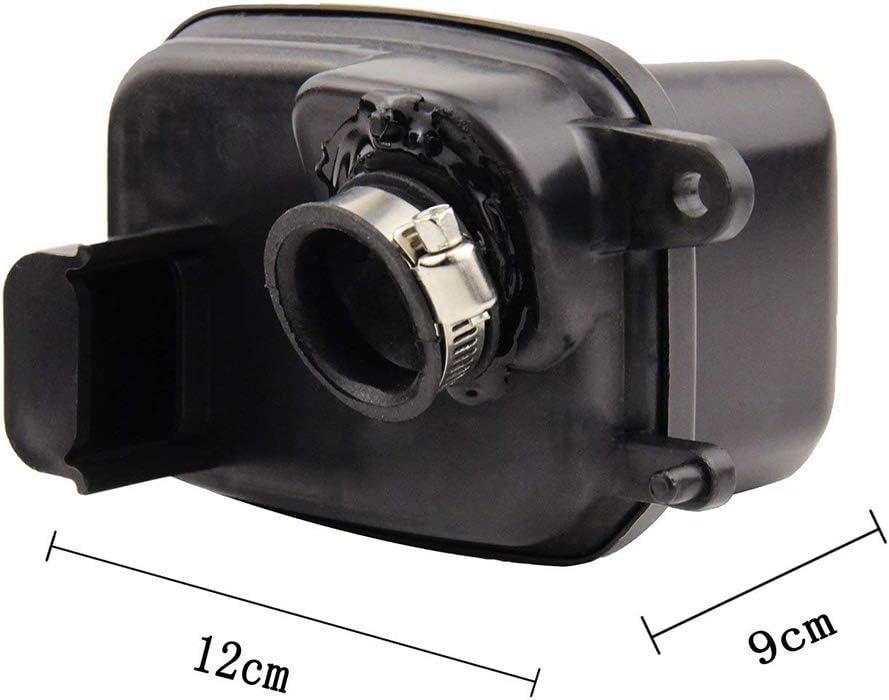 Dongjie Remplacement Noir serr/é Nettoyant Filtre /à air Bo/îte Filtre /à air Assemblage de Rechange pour Yamaha Air Logement PW50 1981-2014