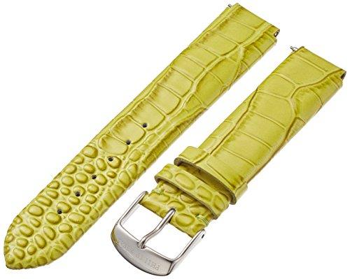 Philip Stein 1-LZTLG 18mm Leather Calfskin Green Watch Strap