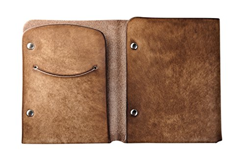 Leather Trifold Personalized Men's Western Slim Wallet Brown Mr Lentz 7wqFa66z