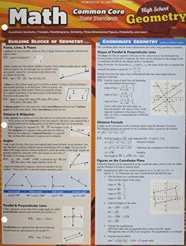 Math Common Core Geometry 10Th Grade