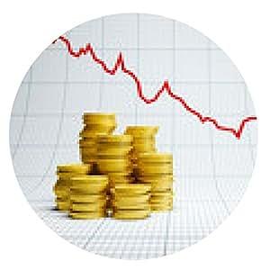 alfombrilla de ratón pérdidas en los mercados financieros - ronda - 20cm
