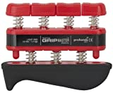 Cheap The Grip Master Gripmaster Medical Hand and Finger Exerciser, Red, 3.0-Pound, Light Tension