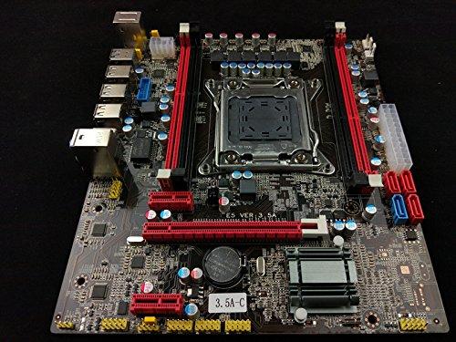 (New Intel X79 Motherboard LGA 2011 mATX DDR3 or ECC (Server) USB 3.0 WiFi OC 3.5)