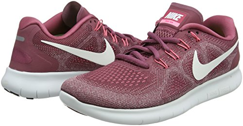 Nike Women's WMNS Free RN 2017, Vintage Wine/Off White, 6 US by Nike (Image #5)