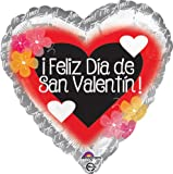 Feliz Dia de San Valentin Flores Balloon - 5 Pieces Flores Balloon LoonBalloon is a USA company and its products sold by authorized sellers