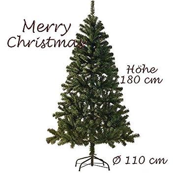 Künstlicher Tannenbaum 180.Künstlicher Tannenbaum Weihnachtsbaum 180 Cm Grün Christbaum Kunsttanne Dichtes Geäst ü5ü 177