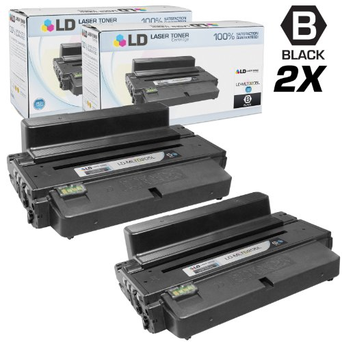 LD © Compatible Samsung MLT-D205L Set of 2 High Yield Black Toner Cartridges for Samsung ML and SCX Printer Series