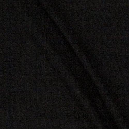 (TELIO Dakota Stretch Rayon Jersey Knit Black Fabric by The Yard)