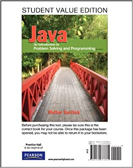 Problem solving in java