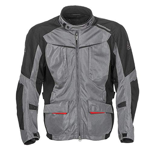 Fieldsheer Men's Hi-Pro Mesh Jacket (Gunmetal/Black, Medium)