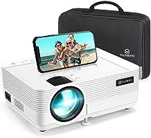 Videoprojecteur, VANKYO Supporte 1080P Full HD Mini Projecteur Retroprojecteur Portable Multimédia Home Cinéma Compatible...