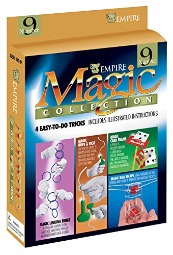 Loftus International Empire Magic Magician Starter Collection #9 Linking Rings 4Pc Magic Set Novelty Item