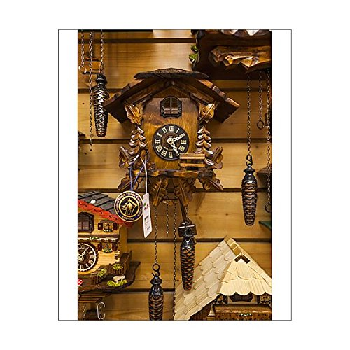 10x8 Print of Germany, Baden-Wurttemburg, Black Forest, Triberg, cuckoo clocks for sale (13938035) (Clock Reproduction Cuckoo)