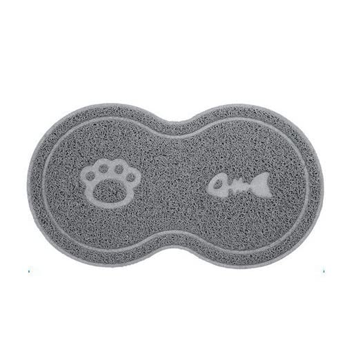 Anti Bite pad Anti-slip Mat PVC Waterproof Elastic Pet PVC Placemat Dog Cat Litter Mat Doormat