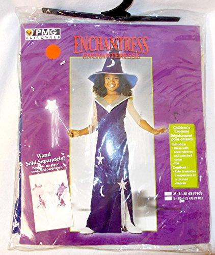 (PMG Halloween Blue Silver Enchantress Costume Dress M 8-10)
