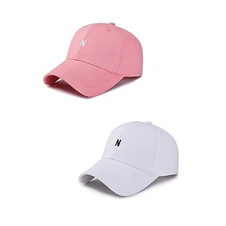 32c855237 Amazon.com: Baseball Cap for Women and Men, Cotton Made Adjustable ...