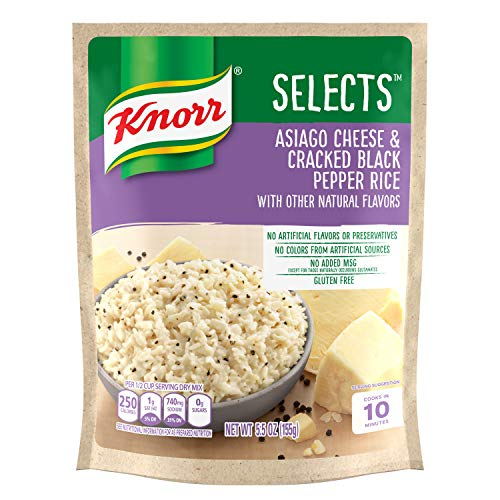 (Knorr Selects Rice Side Dish, Asiago Cheese & Cracked Black Pepper, 5.5 oz)