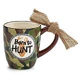 Born to Hunt Camo Ceramic Coff