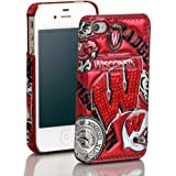 NCAA Wisconsin Badgers 3D Luxe Cover for iPhone 4/4S