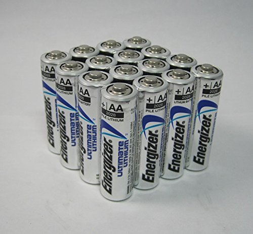 Energizer Ultimate Lithium AA L91 1000 Batteries by Energizer