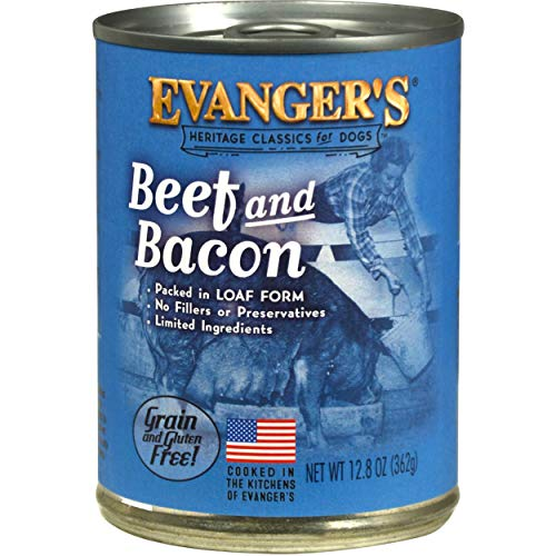 - Evangers Classic Dog Can Bf Bacon 12X13