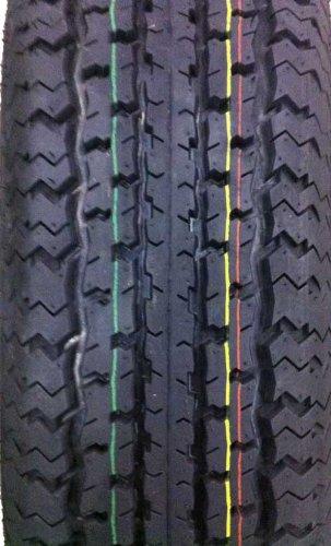 2 New Grand Ride Premium Trailer Tires ST 175/80R13 8PR Load Range D - 11012 …