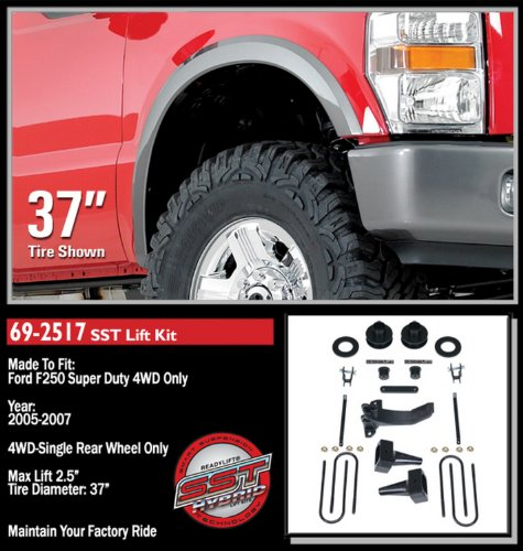 - ReadyLift 69-2517 Super Duty Hybrid Smart Suspension Technology Lift Kit
