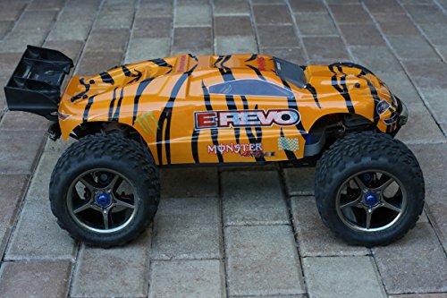 Tiger Monster Body for E-Revo Car Truck 1/10 Scale 1:10 5611X Shell Cover Truck (Body Only, Truck Not (Monster Truck Body)