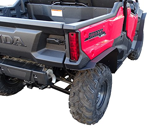 MudBusters HDPE fender extensions for Honda Pioneer 1000-3 (Extra Coverage) -  mud-busters.com, MB-P13