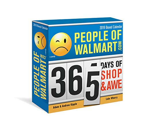 2019 People of Walmart Boxed Calendar: 365 Days of Shop and - Elephant Calendar