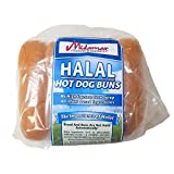 Midamar Halal Hot Dog Buns - 1 Case/18-12 oz loaves