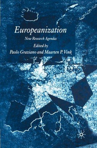 Europeanization: New Research Agendas