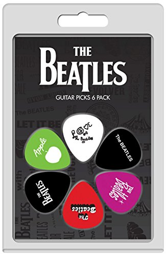 Perris Leathers LP-TB4 The Beatles Guitar Picks, 6-Pack