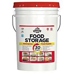 30-Day Emergency Food