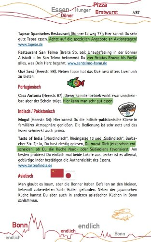 Endlich Bonn 9783942733045 Amazon Com Books