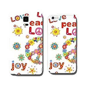 Flower power cell phone cover case Samsung S5