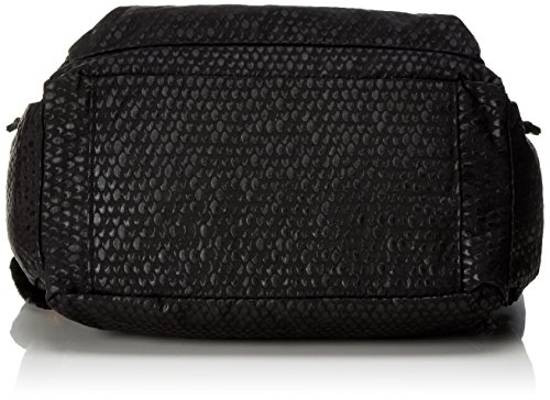 Black Emb Women's Gabbie Bag Kipling Shoulder Black Kipling Gabbie Scarlet 0xz4w