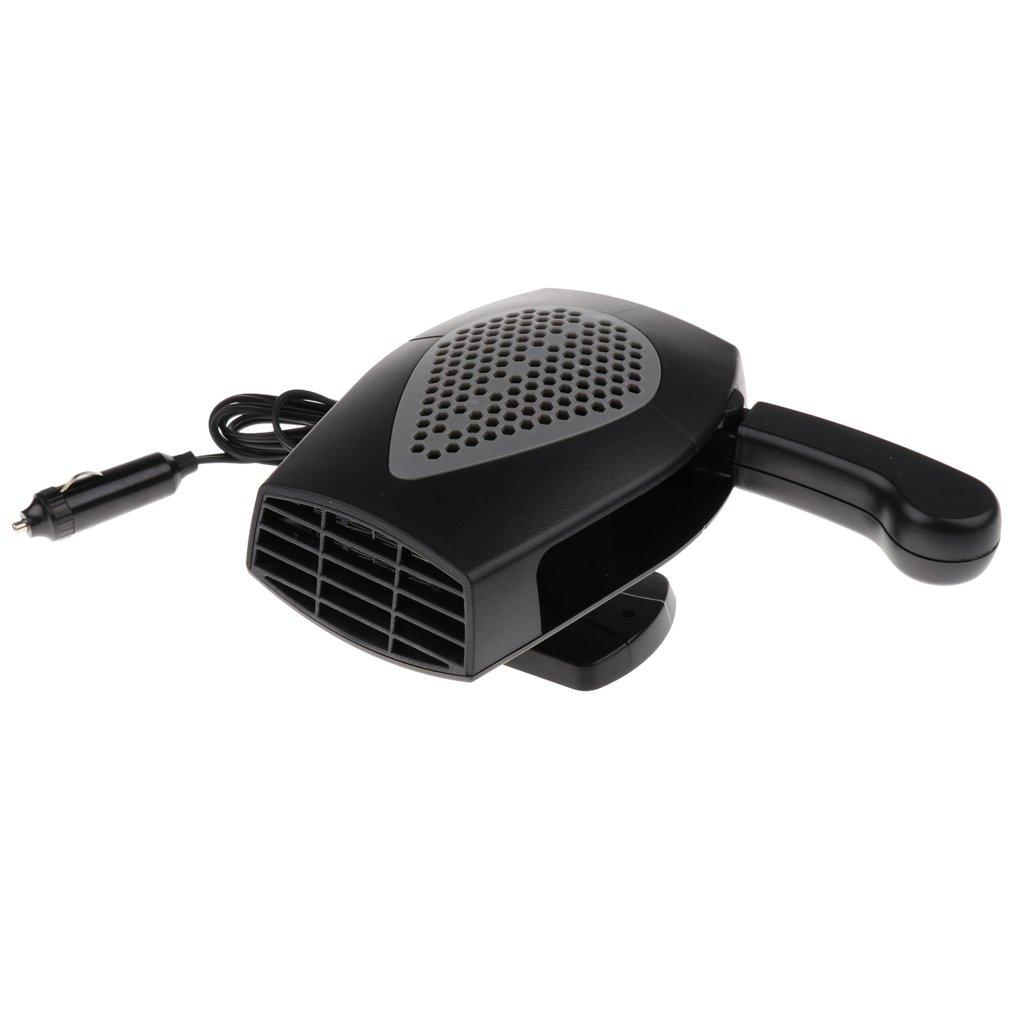 Jili Online Universal Car Truck Auto Heater Hot Cool Fan Windscreen Window Demister 24V - Black by Jili Online (Image #9)