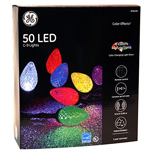 Ge 100 Led C5 Lights