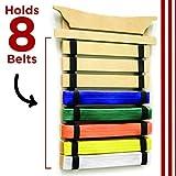 Milliard Karate Belt Display – Holds 8 Martial
